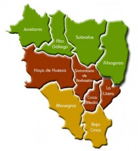 Mapa-Huesca