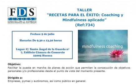 Taller: Recetas para el éxito: Coaching y Mindfulness aplicado