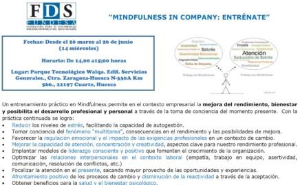 "CURSO ""MINDFULNESS IN COMPANY: ENTRÉNATE"""